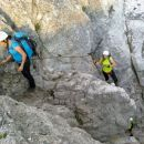 Slovenska pot proti Kranjski koči na Ledinah