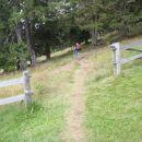 Nadaljevanje poti proti vrhu Smrekovca.