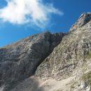 Na sedlu Čez Gulce (2257m) z razgledom na Škrnatarico