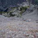 Pogled na Konjsko sedlo in Kurico.