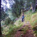 Pot proti Poldašnji špici / Jof di Miezegnot