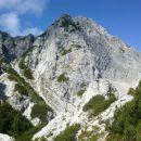 Razgled z poti na Poldašnjo špico / Jof di Miezegnot