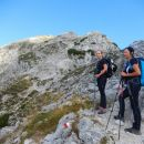 Vzpon na Poldašnjo špico / Jof di Miezegnot ter razgled na njen vrh