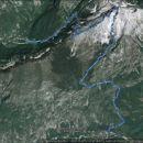 Bavščica-Soča 14,6km, 1864m vzpona in 200m več spusta.