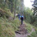 Pot proti Vitrancu.