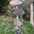 Križišče na Vitrancu, - Jasna,Kranjska g., Ciprnik, Planica.