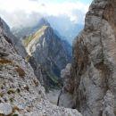 Razgled s poti na Plešivec (Loška stena)
