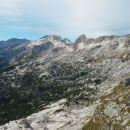 Razgled z vrha Rombona na Kaninsko pogorje