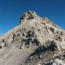 Razgled z poti nazaj na Vrh nad Peski