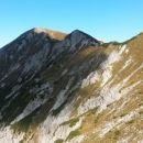 Razgled z poti na vršni greben Kepe