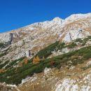 Razgled z poti na vršno pobočje Tosca