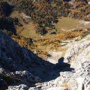 Razgled z vrha Tosca na Vodnikov dom na Velem polju