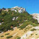 Kmalu nazaj na Studorskem prevalu z razgledom na Veliki Draški vrh