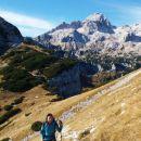 Nadaljnja pot proti Srenjskemu prevalu ter razgled na Triglav