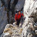Pot pod Malim Draškim vrhom proti Srenjskemu prevalu