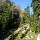 Nadaljnja pot proti Planini Dedno polje