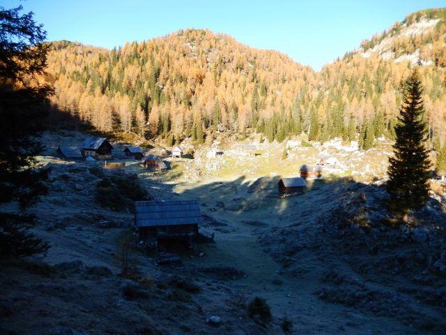 Razgled z poti na Planino Dedno polje