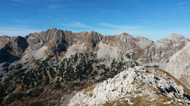 Razgled z vrha Kopice na Špičje