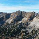 Razgled z vrha Male Zelnarice na Špičje