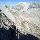 Spust z Male Zelnarice ter razgled na Veliko Zelnarico