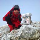 Vpisna skrinjica in žig na Velikem vrhu