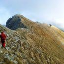 Spust z Velikega vrha