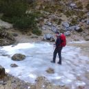 Led ob poti