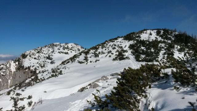 Razgled s poti na Okroglež (desno)