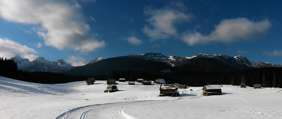 Planina Zajamniki (panoramska slika)