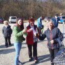 Parkirišče ob Bukovniškem jezeru.