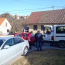 Začetek pohoda v  Črneči vasi.