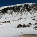 Pogled nazaj na Planino Bistrica ter južno pobočje Ojstrnika