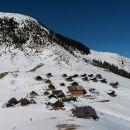 Pogled nazaj na Planino Bistrica
