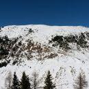 Razgled z vrha Gozmana na Ojstrnik