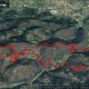 Celotna pot 20,6 km in 1260 m vzpona.