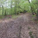 Tu se pot obrne desno v hrib.