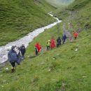 Pot in okolica - slapovi od koče do izvira Mure.
