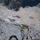 Ostanki Triglavskega ledenika.