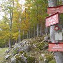 Nadaljevanje poti v smeri Begunjščice - Preval.