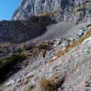 malo sva si razgledala pot pod Kalškim grebenom.