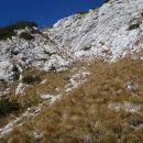 Še nekaj korakov do grebena na Kalško goro.