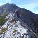 Grebenska pot na Kalški greben.