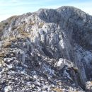 Višje sva, bolj je oddaljen vrh Grebena.