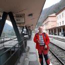 Prihod na železniško postajo Zidani most.