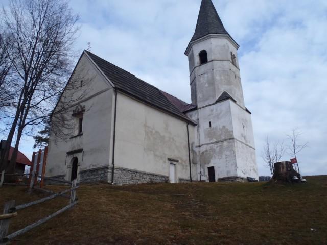 Cerkev Sv. Lovrenca.