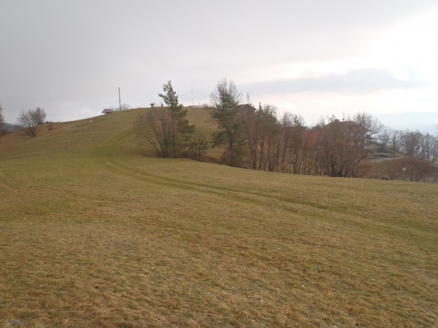 Vrh nad Kočo na Lisci.