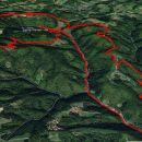 Šoberjev dvor-Tojzlov vrh in Žavcarjev vrh krožna 19,2km.
