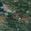 38 km, ja, z Slavnika preko Socerba do Debelega rtiča in v Ankaran.