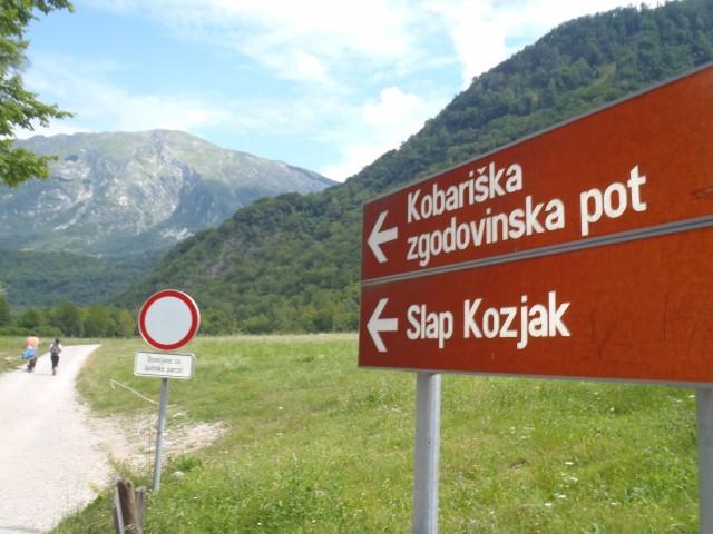 20180715 Kobarid-zgodovinska pot-slap Kozjak - foto