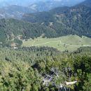 Z Jelovca razgled v smeri proti Travniku.